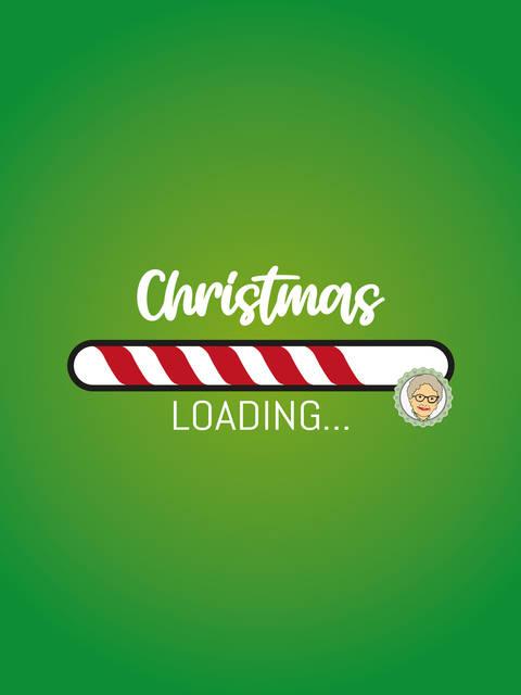 """Plotterdatei """"Christmas Loading"""" - 4-teiliges Set bei Makerist"""