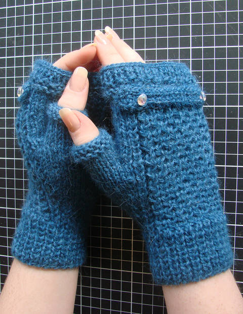 Camelia FingerlessGloves - written tutoriel with photos
