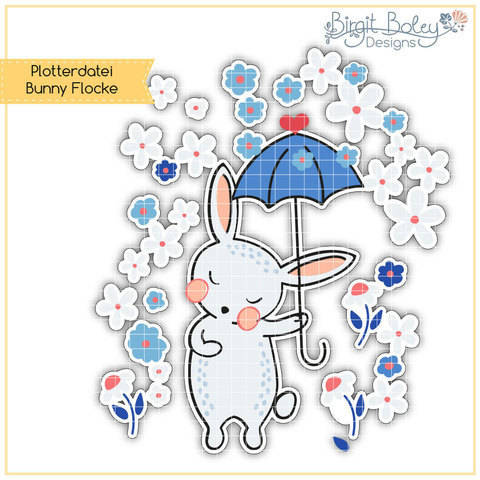 Birgit Boley Designs • Bunny Flocke
