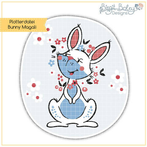 Birgit Boley Designs • Bunny Magali bei Makerist