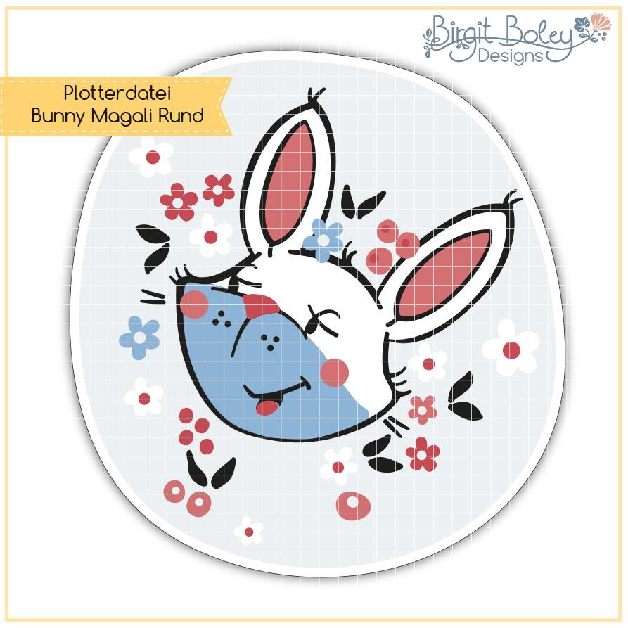 Birgit Boley Designs • Bunny Magali/Rund