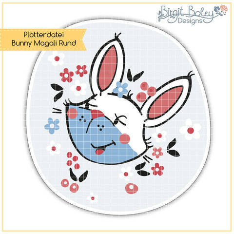 Birgit Boley Designs • Bunny Magali/Rund  bei Makerist