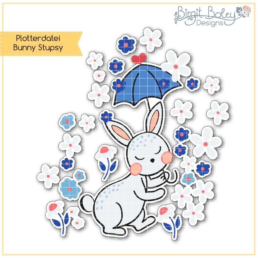 Birgit Boley Designs • Bunny Stupsy