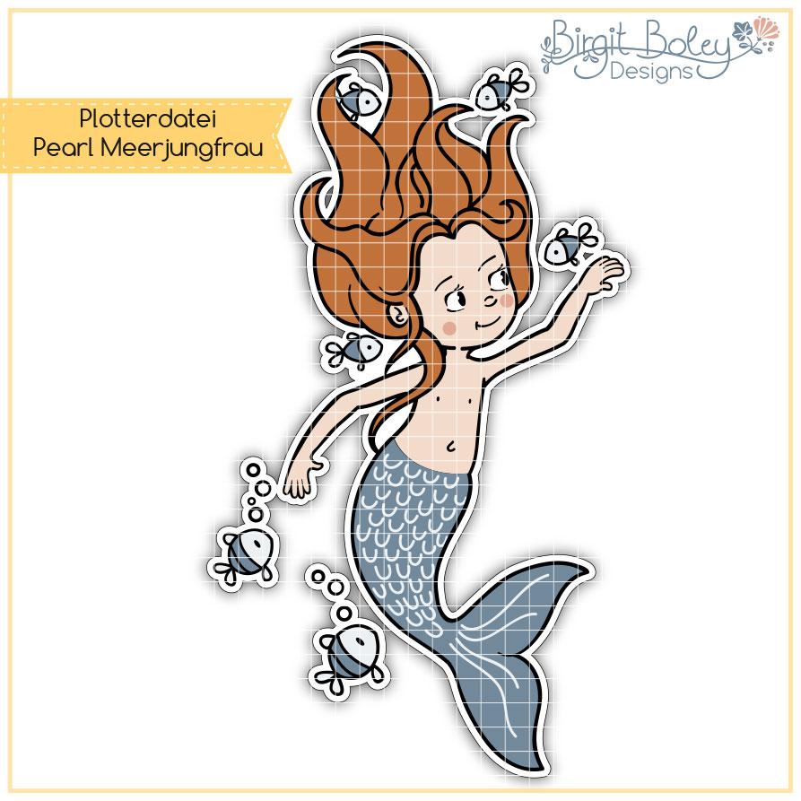 Birgit Boley Designs • Pearl Meerjungfrau