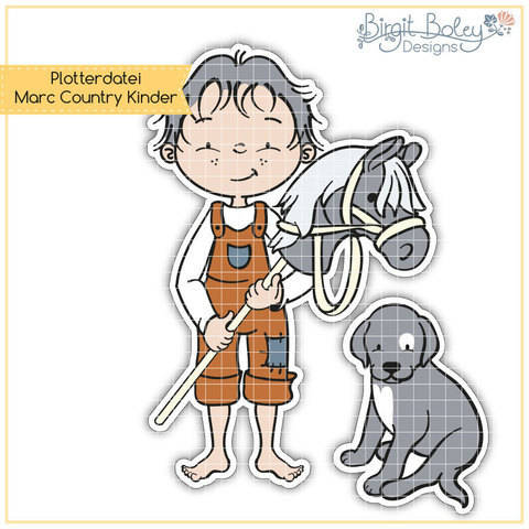 Birgit Boley Designs • Marc Country Kinder bei Makerist