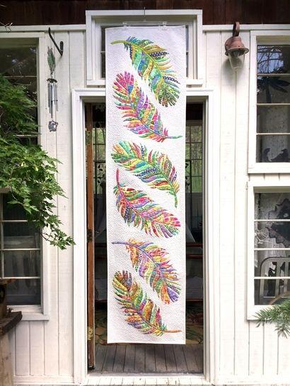 Dream Catcher bed runner PDF quilt pattern at Makerist - Image 1