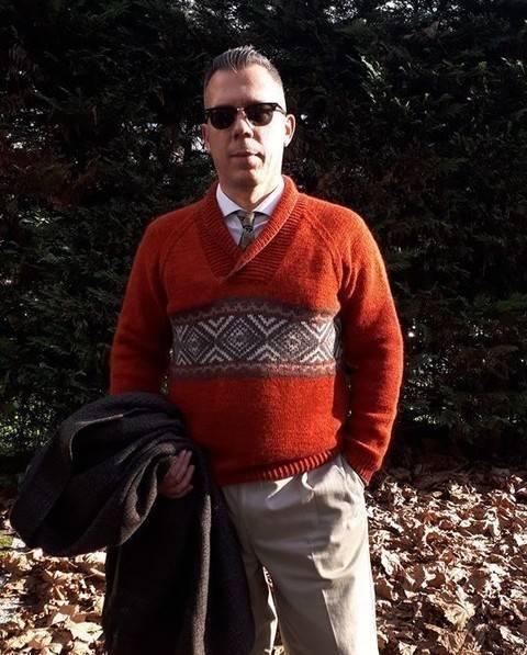 Pull pour Homme - Livnas - modèle tricot chez Makerist
