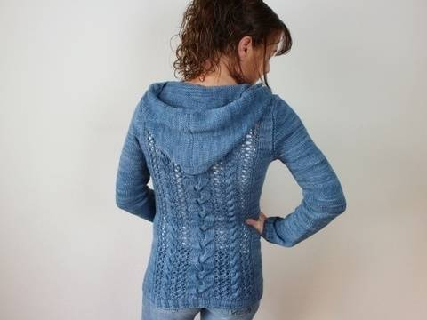 "Knitting pattern ""Cozy Cables"" at Makerist"