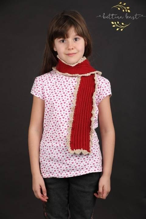 Barbelo - Boho-Schal, ideal für Wollreste bei Makerist