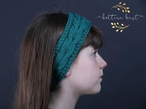 Palael Stirnband mit Zopfmuster