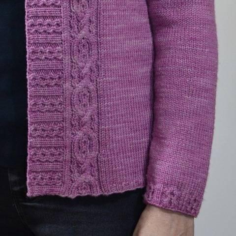 Mireille Cardigan - knitting pattern