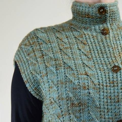Chilton Vest - knitting pattern