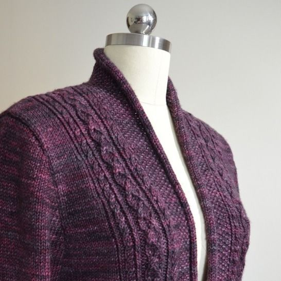Rhinecliff Cardigan - knitting pattern at Makerist - Image 1