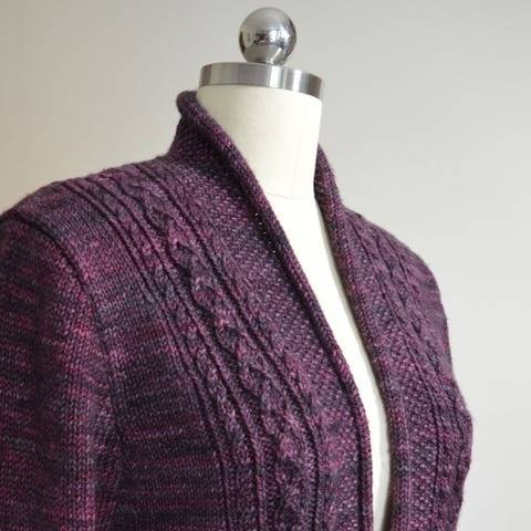 Rhinecliff Cardigan - knitting pattern
