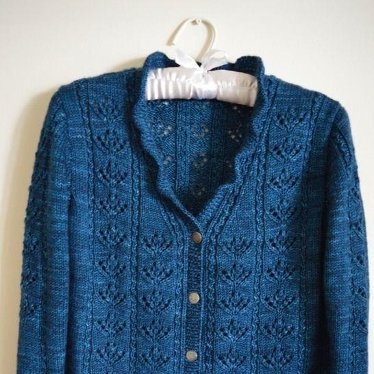 Meadowbrook Cardigan - knitting pattern at Makerist - Image 1