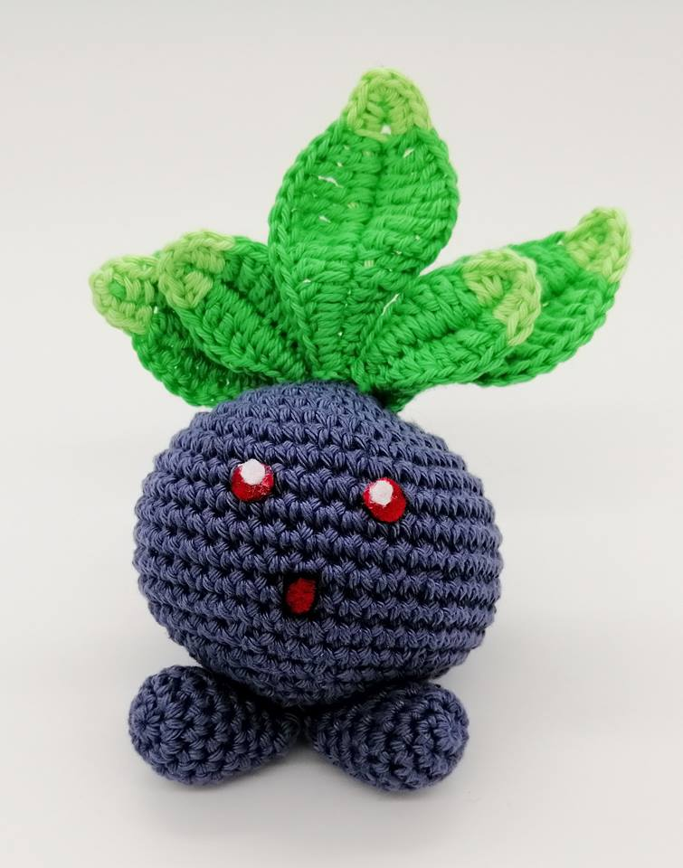 Tutoriel au crochet Pokemon Mystherbe