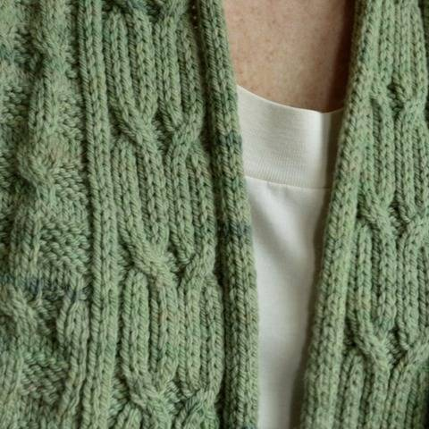 Hillside Cardigan - knitting pattern