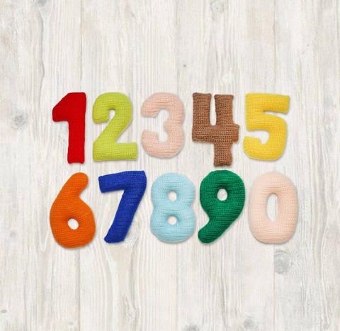 Numbers Crochet Pattern