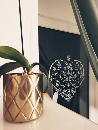 """Ebook Malvorlage Kreidemarker Fensterbild """"Birdylove""""  bei Makerist - Bild 1"""