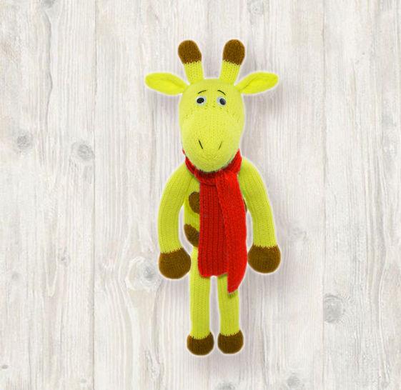 Giraffe Knitting Pattern at Makerist - Image 1