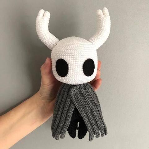 Hollow Knight - Patron au crochet chez Makerist