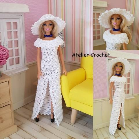 """Blandine"" set für Barbie"