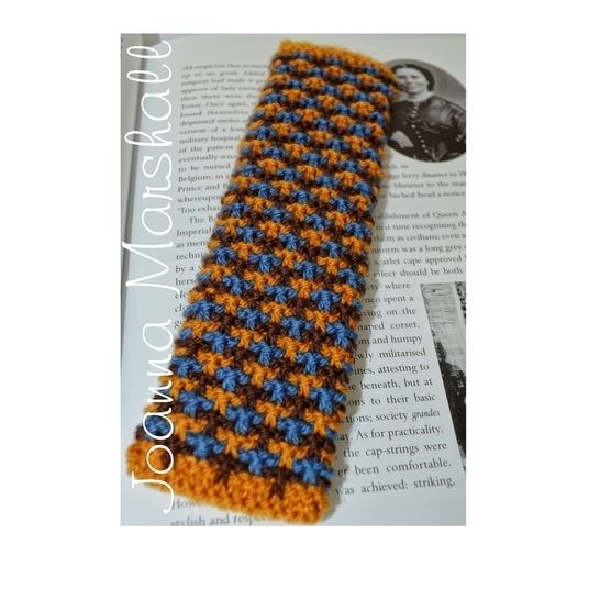 Oxford Texture Tweed Knitted Bookmark at Makerist - Image 1
