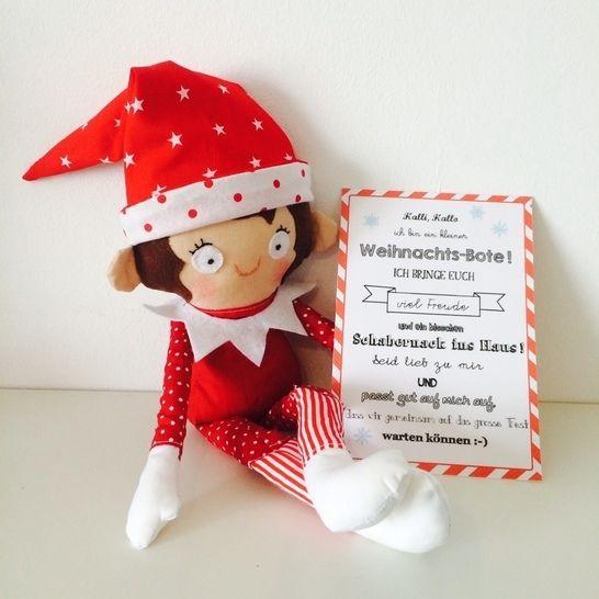 Ebook Kleiner Weihnachts-Bote Wichtel Elf bei Makerist - Bild 1