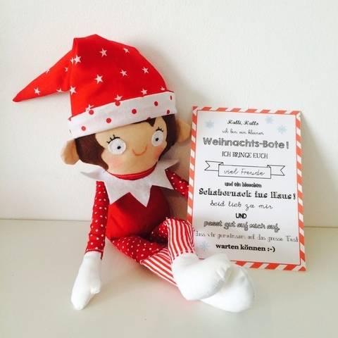 Ebook Kleiner Weihnachts-Bote Wichtel Elf