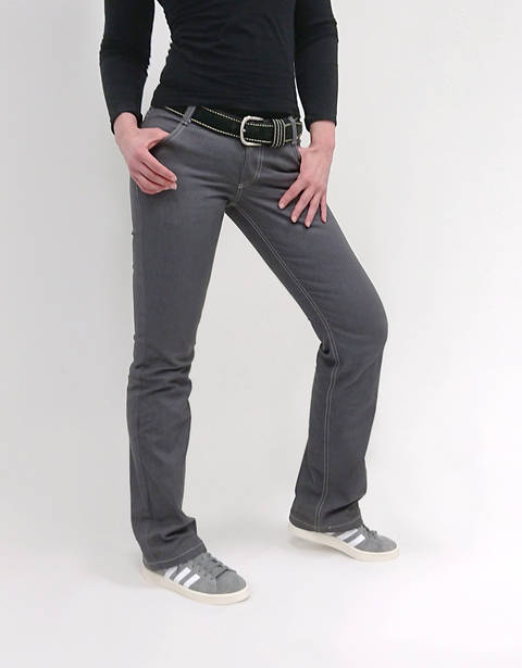 Women's Jeans Straight PDF Pattern Sizes 12-28US (44-60EU)