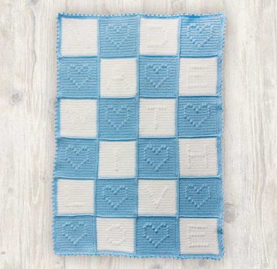 Baby Blanket Quilt Crochet Pattern at Makerist - Image 1