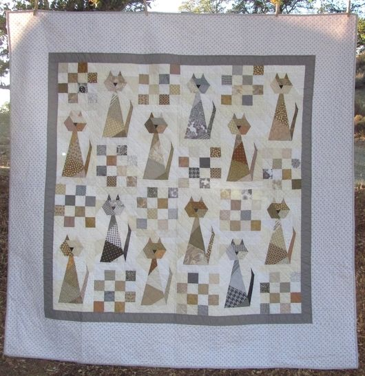 Scrappy Cat PDF Quilt Pattern at Makerist - Image 1