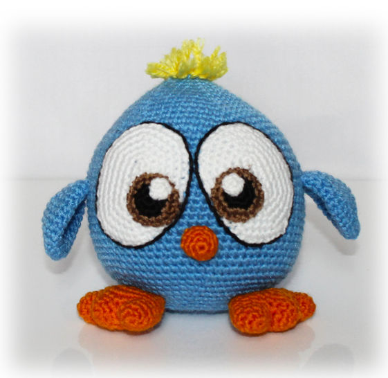 Bird Crochet Pattern at Makerist - Image 1