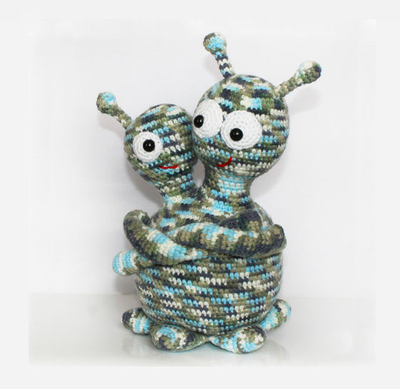 Monster / Alien Crochet Pattern at Makerist - Image 1