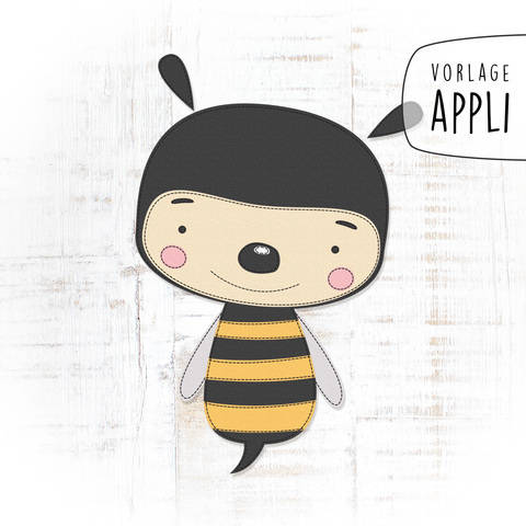 BEE HAPPY Applikationsvorlage bei Makerist