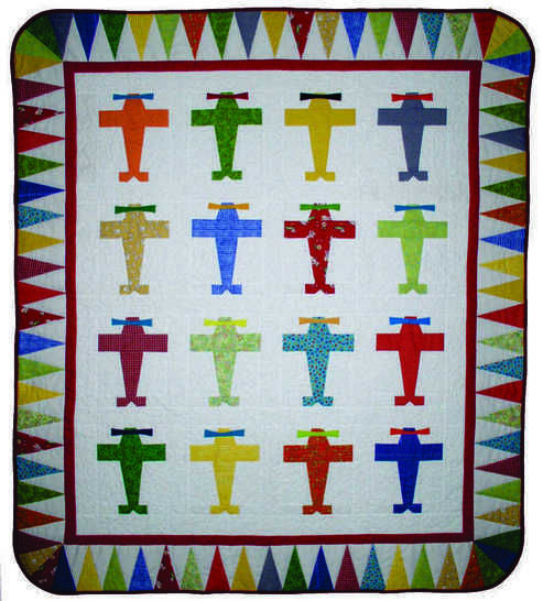 Fly Boy Baby PDF Quilt Pattern at Makerist - Image 1