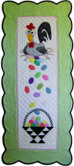 Esther the Easter Chicken PDF Pattern, for Wall or Table at Makerist - Image 1