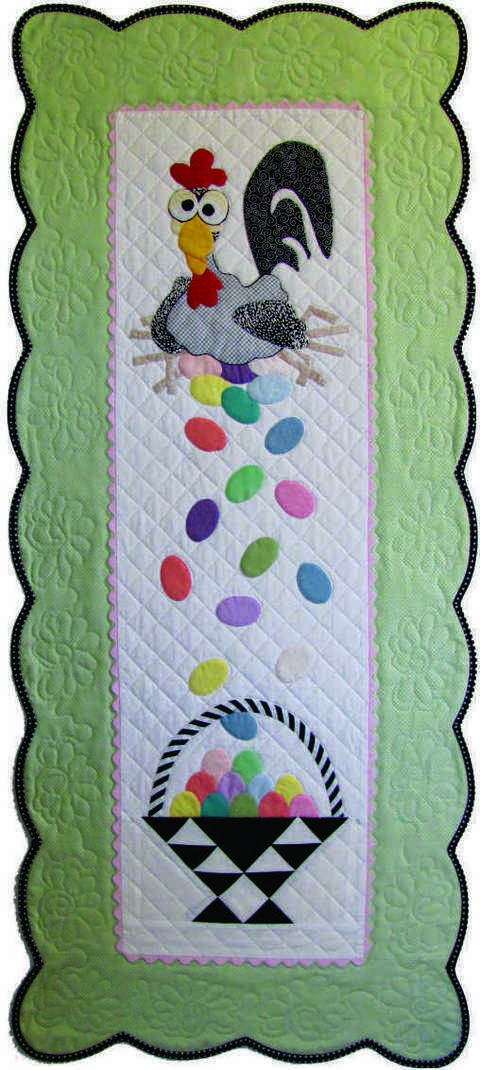 Esther the Easter Chicken PDF Pattern, for Wall or Table