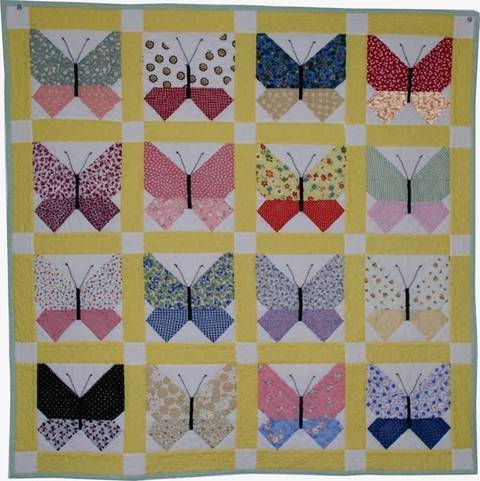 Retro Butterfly PDF Quilt Pattern