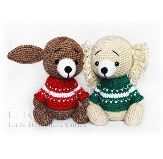 Puppy Crochet Pattern, Dog Crochet Pattern at Makerist - Image 1