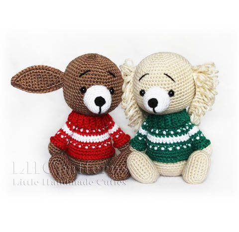 Puppy Crochet Pattern, Dog Crochet Pattern