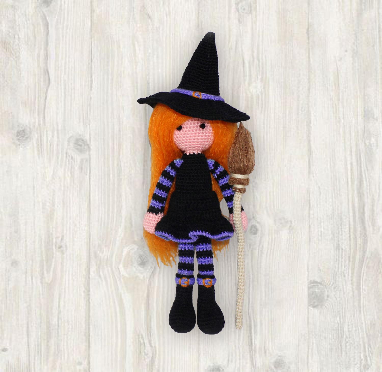 Witch Doll Crochet Pattern