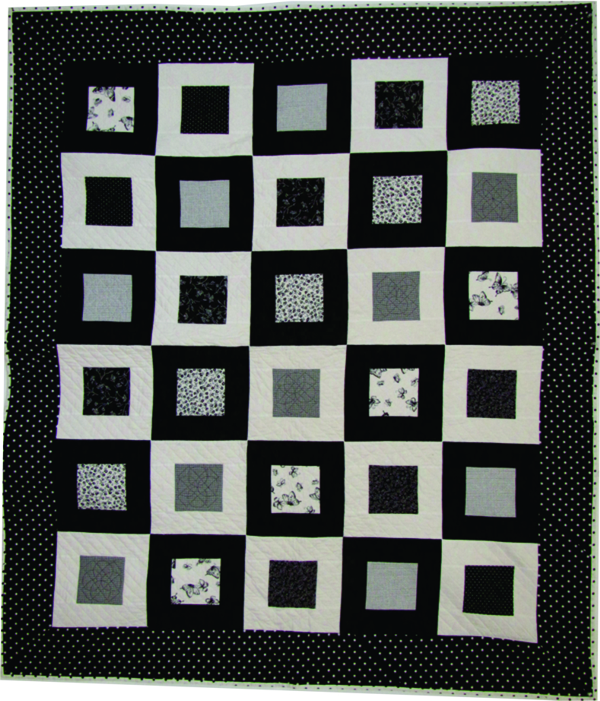 Super Easy On The Square PDF Quilt Pattern