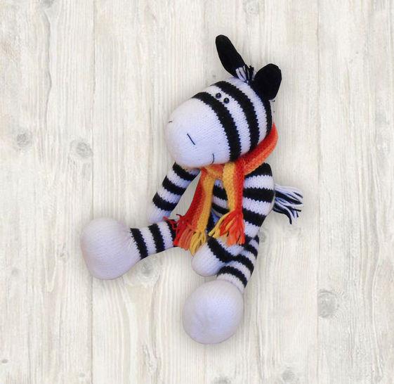 Zebra Knitting Pattern at Makerist - Image 1