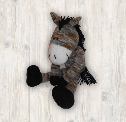 Horse Knitting Pattern