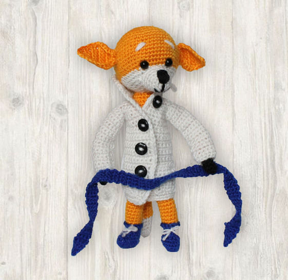 Fox Crochet Pattern at Makerist - Image 1