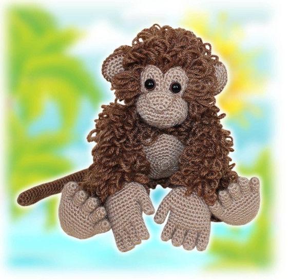 Monkey Crochet Pattern at Makerist - Image 1