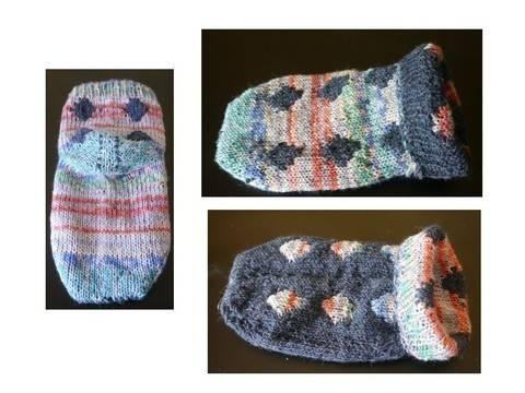 Strickanleitung Doubleface-Socke bei Makerist