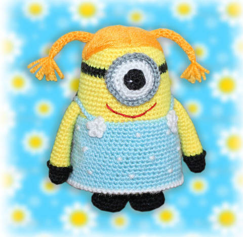 Minion Girl Crochet Pattern