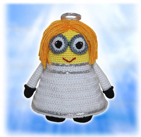 Minion Angel Crochet Pattern
